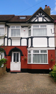 Full repaint on front of house