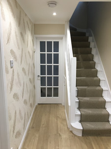 Hallway, stairs and landing revamp