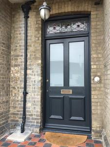 Front door colour change