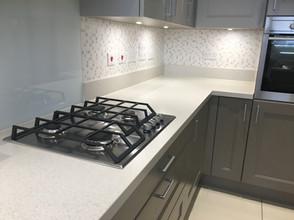 Kitchen splashback wallpaper