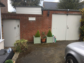 Shed, garage door and gate repaint