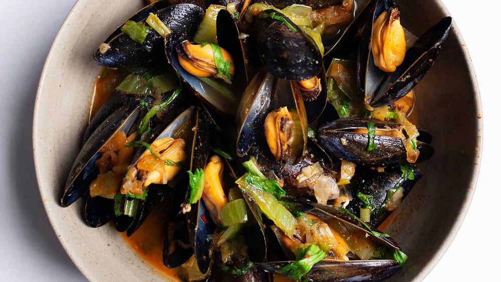 Chilli Mussels