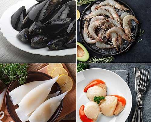 Mixed Shellfish Selection