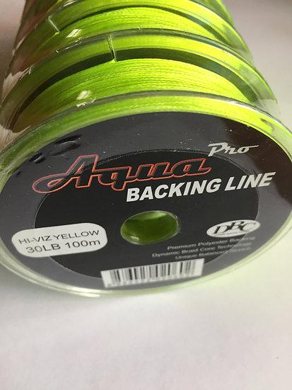 Backing line Aqua