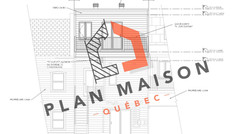 plan maison de ville a etage