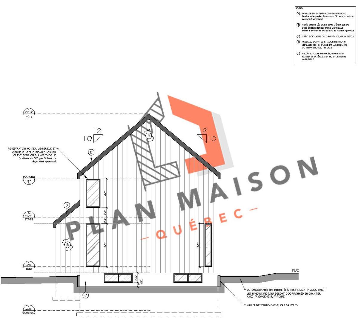 plan maison neuve 4 chambres