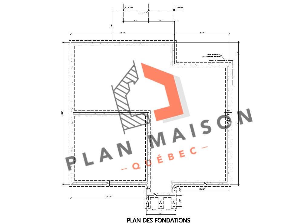 3d plan maison