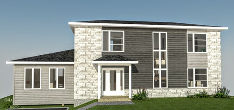 dessin de maison en 3d