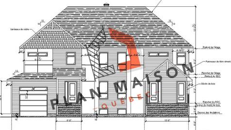 plan maison neuve