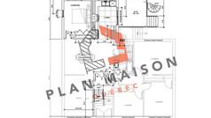 plan maison 2 etage