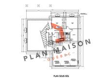 plan de maison en l avec garage