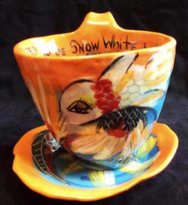 Sunflower Cup & Saucer
