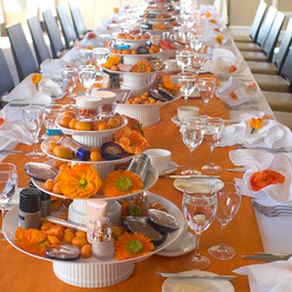 Lumene Breakfast Table Decor