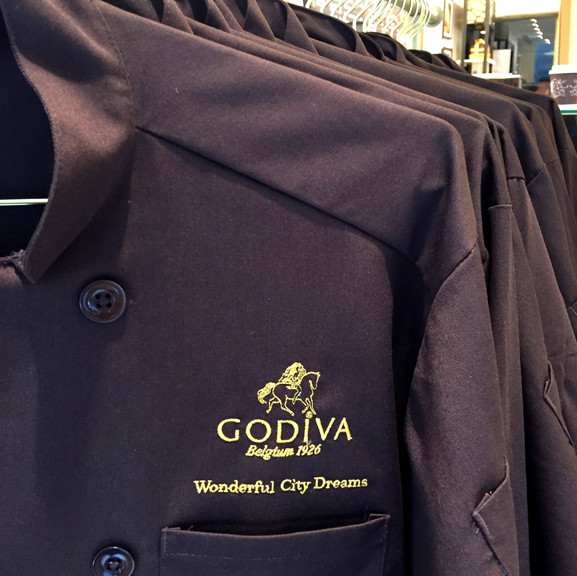 Godiva Chef Coats