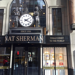 Nat Sherman Storefront