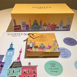 Godiva Custom-Made Box and Mat