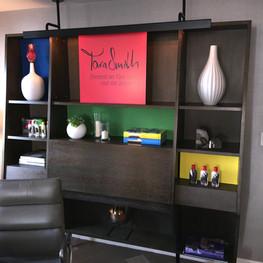 Tara Smith Branded Bookcase