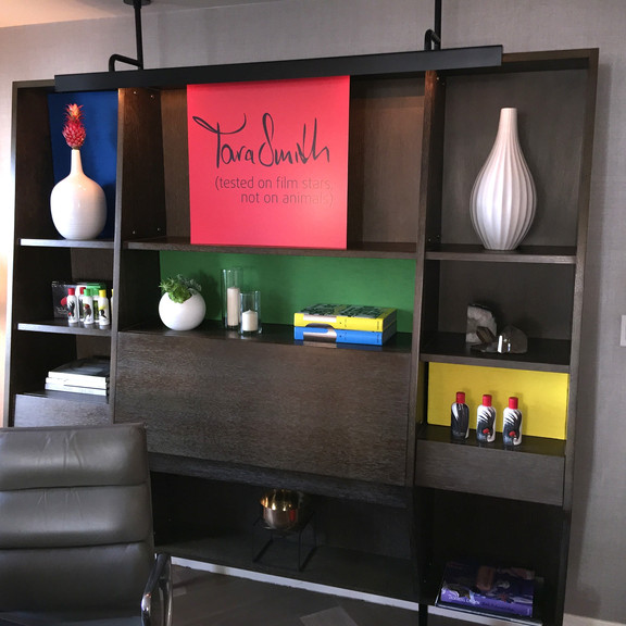 Tara Smith Branded Bookcase