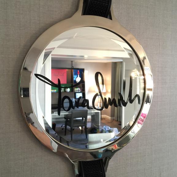 Tara Smith Branded Mirror