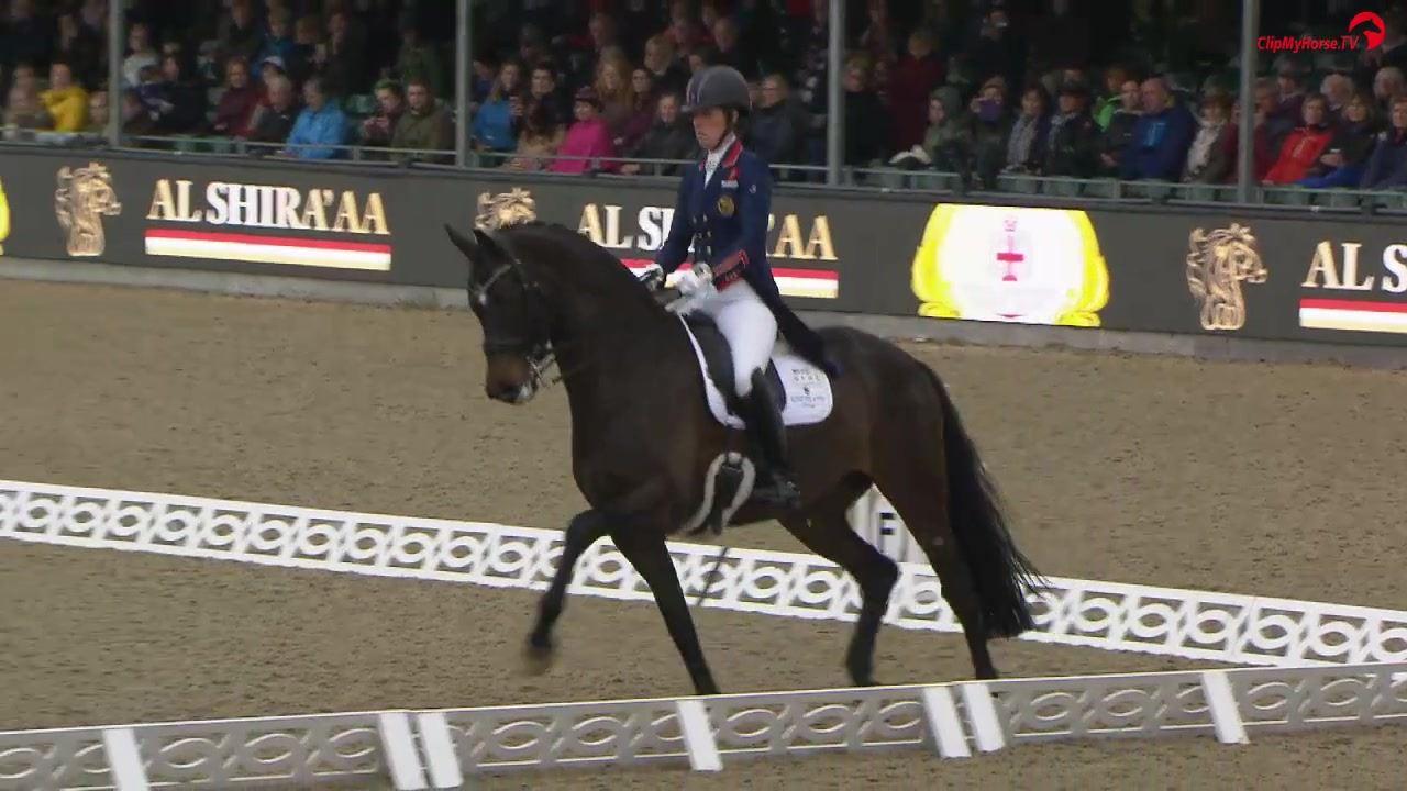 Charlotte Dujardin & Erlentanz - CDI4* de Windsor