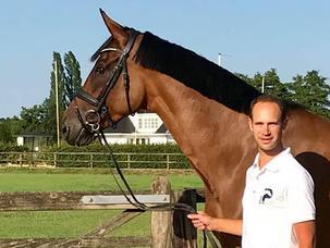 Guillaume Recoing : les jeunes chevaux sont ma spécialité et j'aime vraiment ça