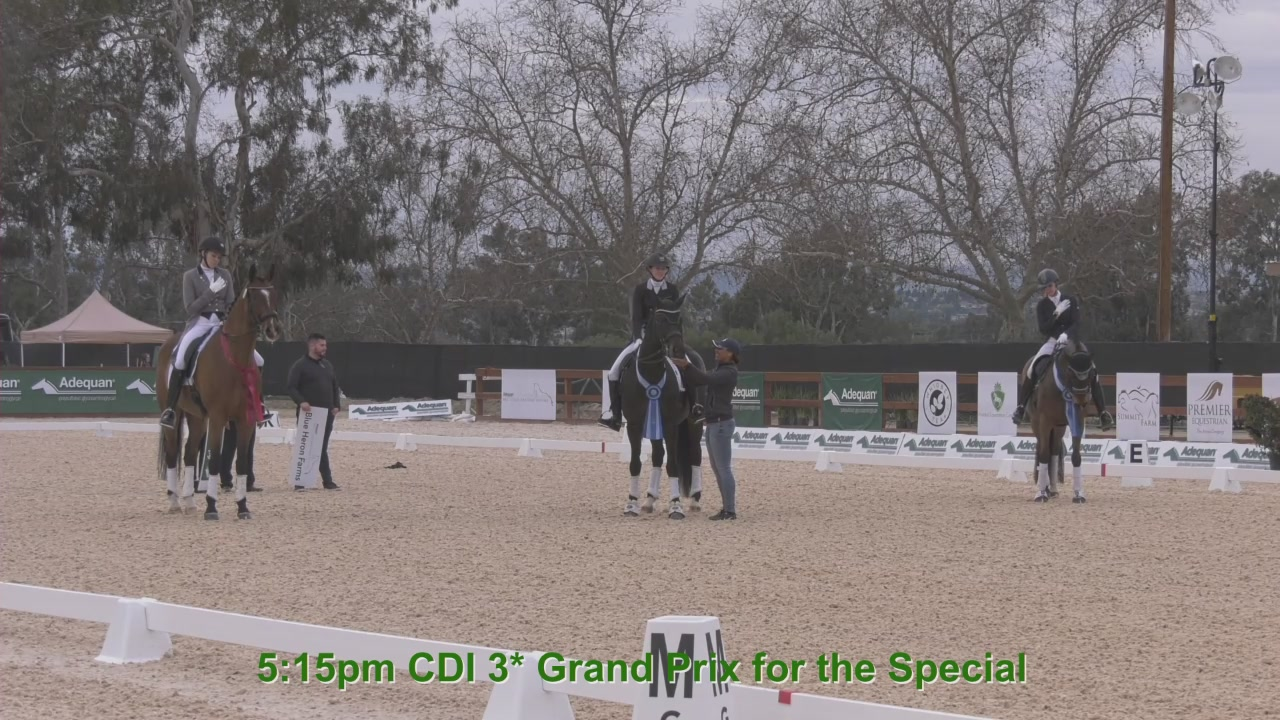 Adequan West Coast Dressage Festival 3 - March 2019 - Commentated by Lorraine MacDonald FEI 4* Retired
