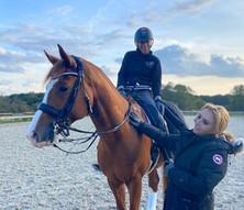 Stéphanie Brieussel : je n'ai jamais monté un cheval comme ça !