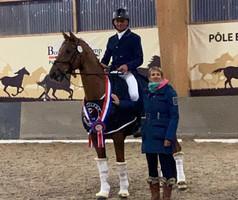 Jean-Marc Favereau et Deauville de Hus Champions de France des 7 ans
