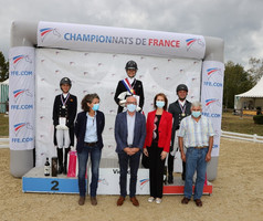 Pauline Guillem et Don Easy, champions de France Pro 3