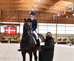 Nanna Skodborg Merrald : je suis très fière de notre première compétition