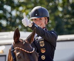 Championnats d'Europe de Hagen : Jessica von Bredow Werndl et TSF Dalera en Or dans le Spécial
