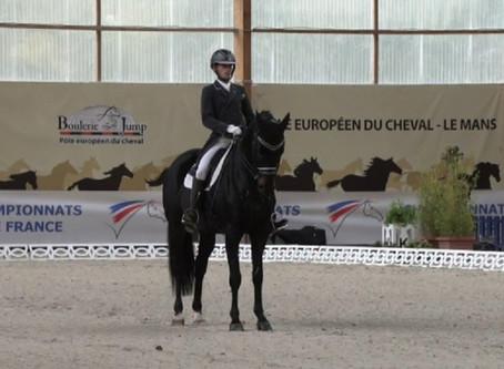 CDI du Mans : Corentin Pottier et Gotilas du Feuillard 2 èmes dans le Medium Tour