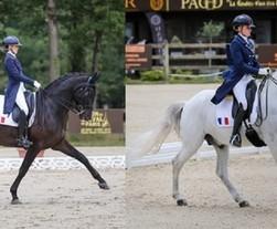 Championnats d'Europe Jeunes : Mathilde Juglaret et Mado Pinto dans le Top 10