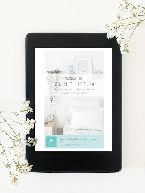 Manual de orden y limpieza + Plantillas e infografías