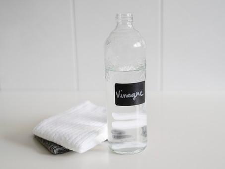 Usos del vinagre blanco de limpieza