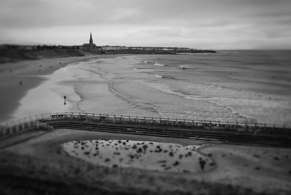 The old Lido :Tynemouth