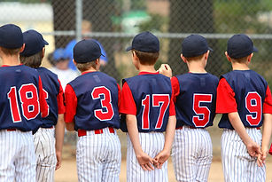 Little League Baseball Game