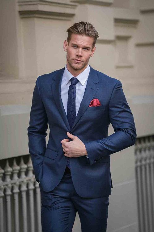 VERSES Slim Cut Navy Suit