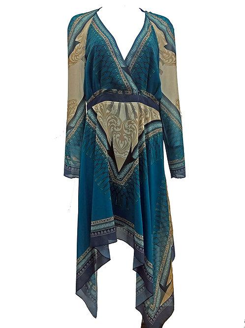 Versace Kaftan Dress