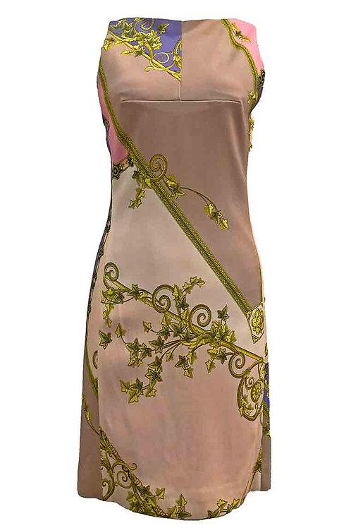 Versace Baroque Dusty Pink Dress