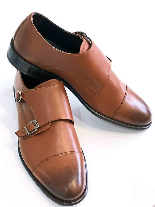 Fiacco Nero Whiskey Leather Shoe