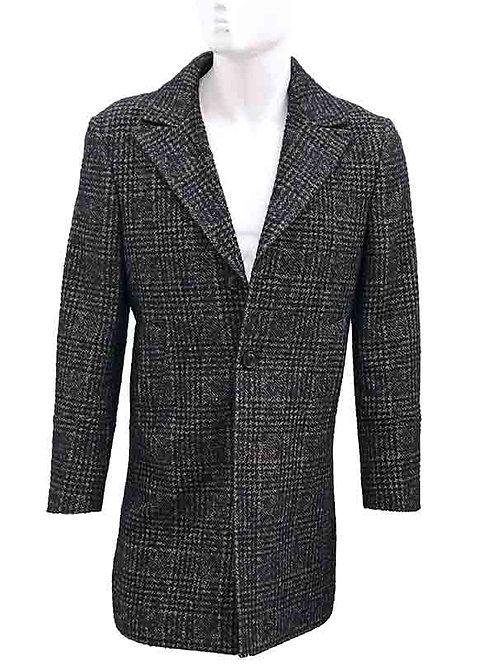 VERSES Tweed Overcoat