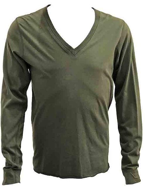 John Richmond Olive Long Sleeve T-shirt