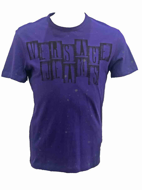 Versace Jeans Purple T-shirt