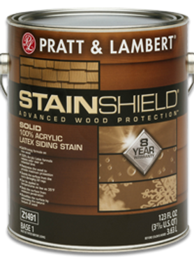 Stainshield Solid Siding Stain