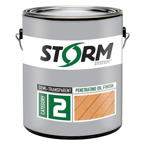 Storm Category 2 Semi-Transparent Penetrating Oil Finish