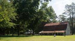 Pine Log Plantation Horse Barn and Tobacco Barn (2)