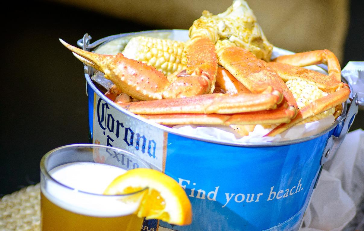 Victoria's Crab Shack Steam Pot