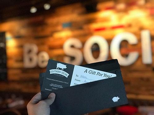 Gift Card $25-$500