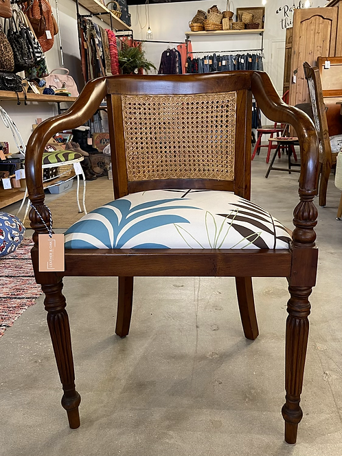 Double Cane Back Chair